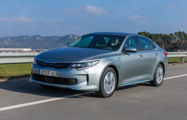 Kia Optima Plug-in hibrid