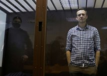 Vladimir Putin's most prominent critic, Alexei Navalny, was jailed in February/Reuters